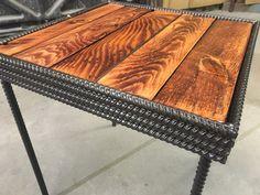Rebar & Pallet Table