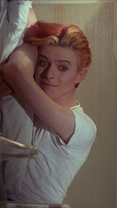 1975 - David Bowie as Thomas Newton in The Man Who Fell To Earth.  It's so beautiful I have to pin it again!