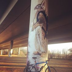 I wish you all a great Easter weekend! #happyeaster #cannondale #caad #caad3 #fatty  #grafitti