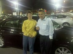 LaRiche Toyota welcomes Floyd and Renee Liechty with their '08 Avalon Limited!