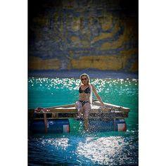 "Linda M. auf Instagram: ""Fotografie: @fotografie_franzockel #shooting #shootingtime #see #blauersee #bikini #bikinigirl #modeling #floos #steinbruchsee #steinbruch…"""
