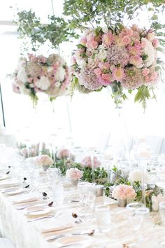 beautiful wedding centerpiece; photo: Nadia Hung Photography