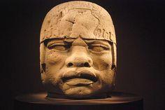 Olmec Colossal Head No. 5, San Lorenzo, Tenochtitlán 1200–900 B.C., Mexico