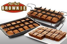 Perfect Brownie Pan Set for P499 instead of P1100: Whip Up and Create the Perfect Brownies - Free Delivery