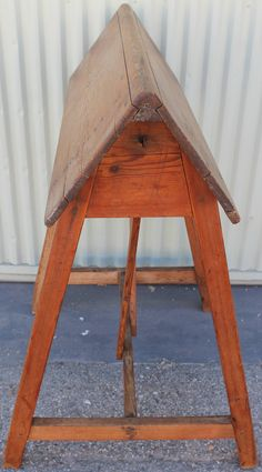 e2d0b99fe4 19th Century Early Pine Saddle Saddle Blanket Rack