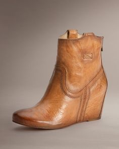 I may just be in love. Carson Wedge Bootie - The Frye Company
