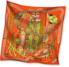 Hermes silk & cashmere scarf. Colors, colors, colors! If you tend to dress dark - like me - this will give a touch of light to you outfit and to your face.