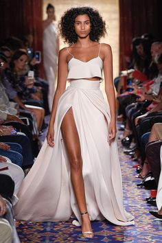 Brandon Maxwell Spring 2017 Ready-to-Wear Fashion Show - Imaan Hammam
