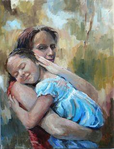 Pintura de María Inés Carod.