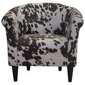 Found it at AllModern - Savannah Cowhide Club Chair