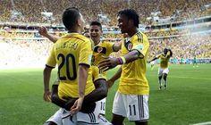 BRASIL 2014. Colombia gana 2-1 a Costa de Marfil y se acerca a octavos de final http://hbanoticias.com/9587