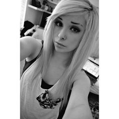 cute-emo-girl ❤ liked on Polyvore featuring hair and girls