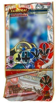 Green Samurai Ranger ~1.4 Mini-Figure + 3 Trading Card: Power Rangers Samurai Trading Figure + Card Series