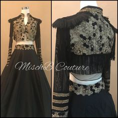 A candid statement, lehenga by mischb couture