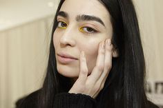 NYFW Fall 2015 - Beauty Trends - Sparkly Accents - Delpozo