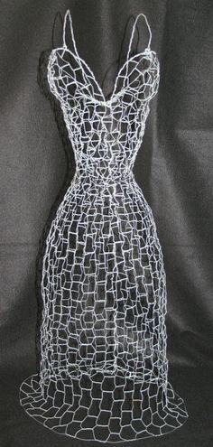 Dressform Wire Sculpture