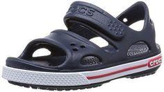 Oferta: 29.99€ Dto: -10%. Comprar Ofertas de crocs Cbnd2SndlPS Navy/Whi C5 - Sandalias de vestir de goma para niño azul azul (marino) 20/21 barato. ¡Mira las ofertas!