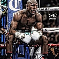 "Floyd ""money"" Mayweather Jr, pound-for-pound king, defeats Marcos Maidana for the WBA Welterweight Title. mayweather continues his PERFECT"