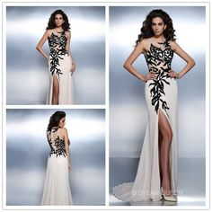 2015 sexy sleevess floor-length  Prom dress #dylanqueen