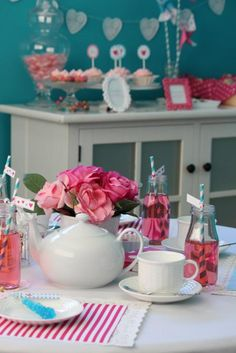 Little Girl Tea Party Ideas | ... about planning this party my daughter wanted to have a tea party with