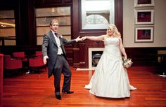 Wedding photography - Bride and groom dancing together during a portrait shoot  Agnes Photography & Film
