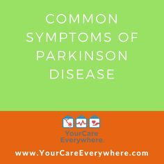 You have Parkinson disease. This disease is caused by a loss of a chemical in your brain needed to help control movement and balance. For reasons that are not clear, cells that make this brain chemical stop working. This causes symptoms. This sheet tells you more about symptoms of Parkinson disease.