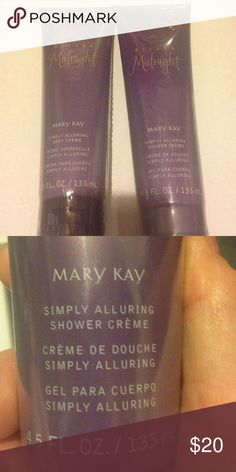 Mary Kay Two Belara Midnights one is a shower cream and the other is a body cream. Never been opened, never used. Mary Kay Other