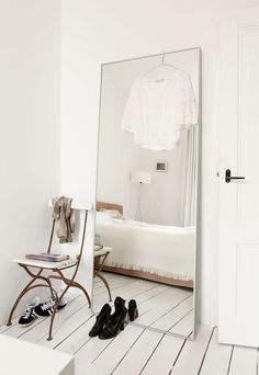 Spiegel groot slaapkamer