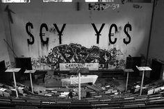 Sonntag, 09.11., 15:41 Uhr – Dahlem, Anatomie-Institut: Say yes to Anatomie. © Eva Kejikova
