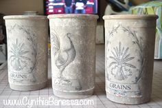 Cynthia Banessa | Transfer Clay Pots to Amazing Home Decor | http://cynthiabanessa.com