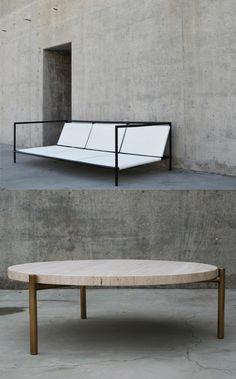1.2.3. Sofa and table   furniture . Möbel . meubles   Design: TEN10  