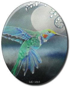'Mir'acle Art Inspirations: Another Hummingbird.....from designs by Ryn