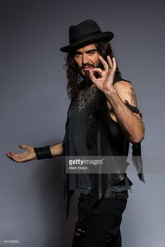 Comedian and actor Russell Brand poses at the 26th Annual ARIA Awards 2012 at the on November 29, 2012 in Sydney, Australia.