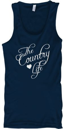 The Country Life <3.  Good saying that goes along with the Redneck wine glasses I've been making