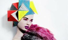 Photographer Billy Kidd Goes Crazy With Edgy Tresses #hairstyles trendhunter.com