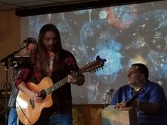 Kevin plays at the American Legion with friends, Dave Morrison and Todd