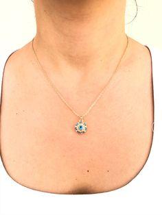 Evil Eye Jewelry, Evil Eye Necklace, Evil Eye Bracelet, Evil Eye Pendant, Evil Eye Charm, Gold Chains, Etsy Shop, Pendant Necklace, Beads