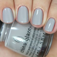 China Glaze Change Your Altitude   Fall 2015 The Great Outdoors Collection   Peachy Polish