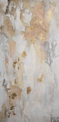New Beginnings, Shop now! This piece is acrylic and gold leaf. This warm and light piece adds balance and calm to your life. Abstract art with gold - When the light shines on the gold leaf it will bring a little bit of sparkle into your home or workplace. L Wallpaper, Wallpaper Backgrounds, Calming Backgrounds, Gold Marble Wallpaper, Sparkle Wallpaper, Wallpaper Ideas, Painting Inspiration, Art Inspo, Colour Inspiration