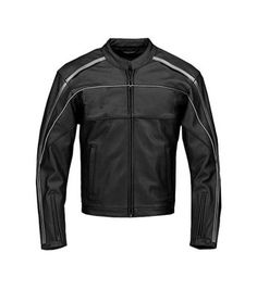 Sleekhides Mens Motorbike Real Leather Jacket with CE Approved Internal Protection