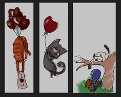 kitties sketches by diabolic sun