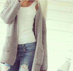 I love these casual knit outfits. I need them in my life! Fall Winter Outfits, Autumn Winter Fashion, Casual Winter, Winter Style, Mode Outfits, Casual Outfits, Outfit Chic, Comfy Outfit, Looks Jeans