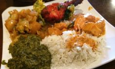 Buffet plate at Swad Indian in Raleigh, NC Triangle Dining