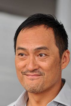 Japanese actor Ken Watanabe arrives to promote the movie 'Yurusarezarumono' presented out of competition at the 70th Venice Film Festival on...