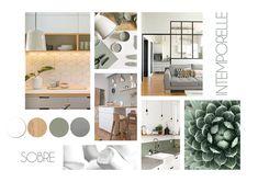 Moodboard Interior Design, Mood Board Interior, Condo Living Room, Living Room Decor, Interior Design Presentation, Material Design, Toulouse, Cozy House, Editorial Design