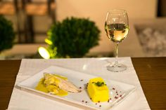 Sea bass fillet in citrus fruits sauce,with mashed potatoes...!