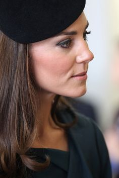 Catherine, Duchess Of Cambridge visits De Montfort University on March 8, 2012 in Leicester, England.