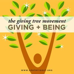 The #Giving Movement The Giving Tree
