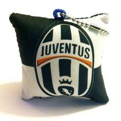Juventus Cushion Soccer Keychain