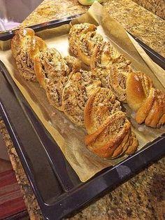 Nusszopf (Rezept von einem Bäckermeister) 1